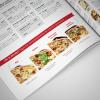 Diseño carta Restaurante Pizza Emporio
