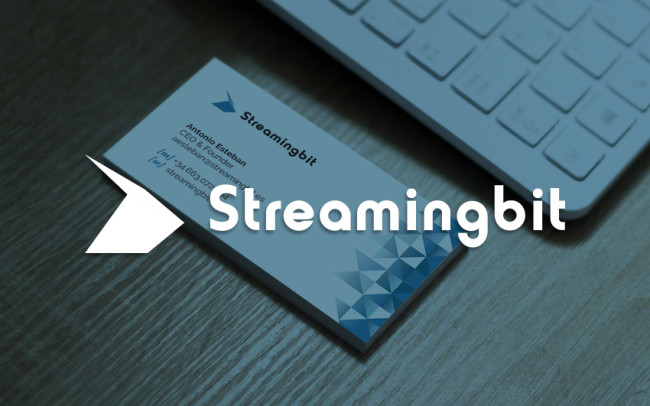 tarjetas y logotipo streamingbit